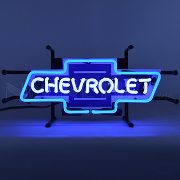 Chevrolet Bowtie Junior Neon Sign