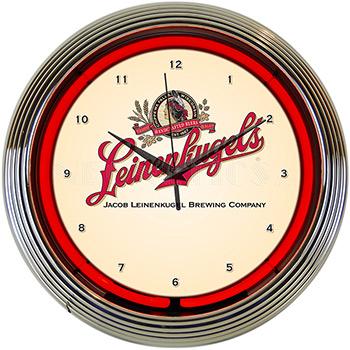 Leinenkugels Beer Neon Clock