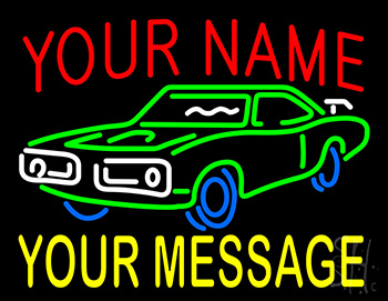 Custom - Car 3 Neon Sign
