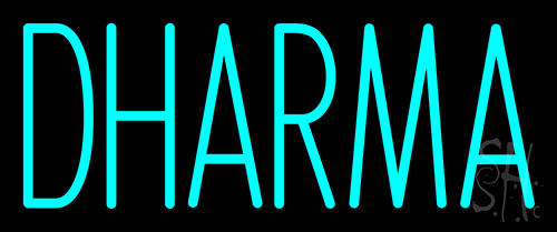 Dharma Neon Sign