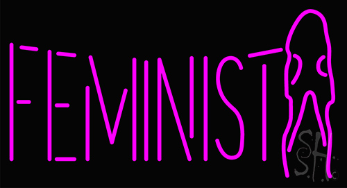 Feminist Girl Neon Flex Sign