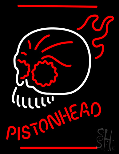 Pistonihead Neon Sign