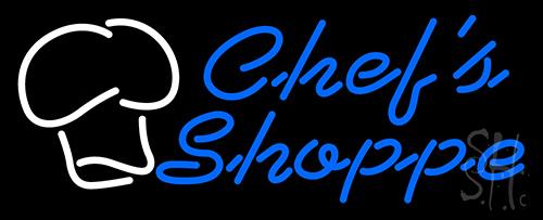 Chefs Shoppe Neon Sign