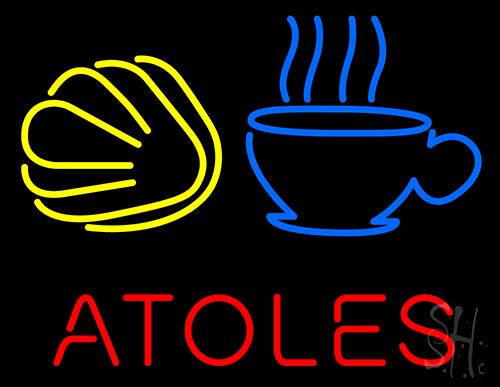 Atoles Neon Sign