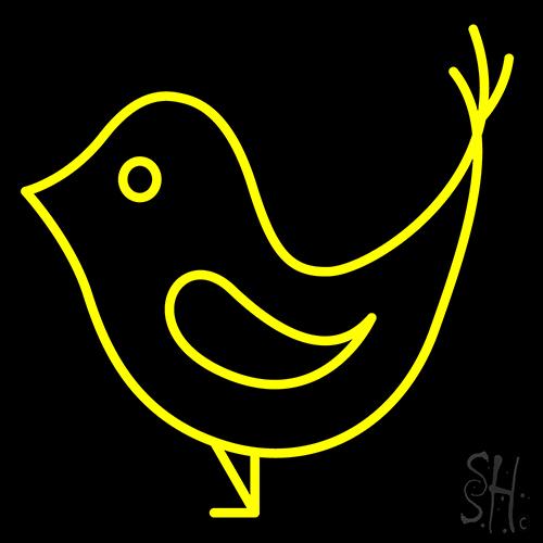 Beak Bird Neon Sign