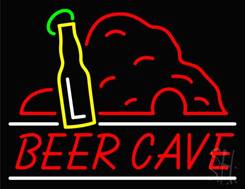 Beer Cave Neon Sign