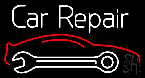 Car Repair Neon Sign