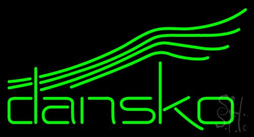 Dansko Shoe Neon Sign