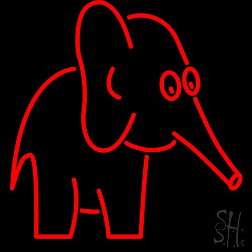 Elephant Neon Sign