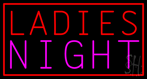 Ladies Night Neon Sign