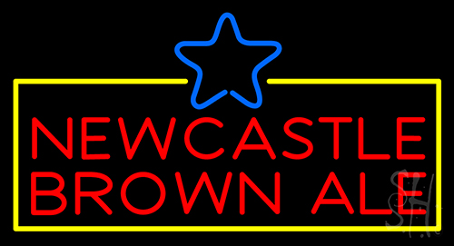 Newcastle Brown Ale Neon Sign