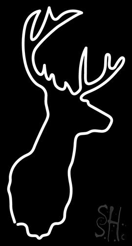 Deer Neon Sign