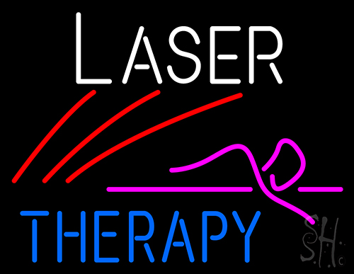 Laser Therapy Neon Sign