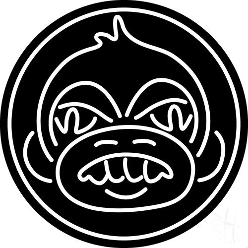 Angry Monkey Neon Sign