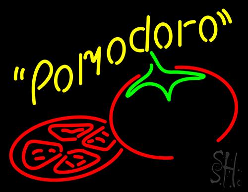 Pomodoro Tomato Sauce Neon Sign