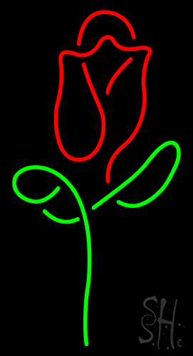 Red Rose Neon Sign Flower Neon Signs Every Thing Neon