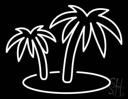 Tropics Neon Sign