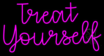 Treat yourself neon sign wedding neon signs every thing neon treat yourself neon sign solutioingenieria Choice Image