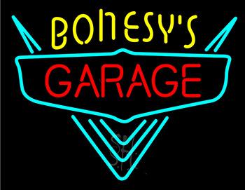 Bonesys Garage Neon Sign