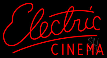 Electric Cinema Neon Sign