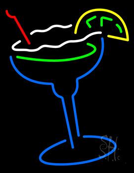 Martini Glass Neon Sign