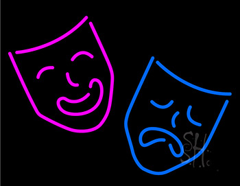 Mask Neon Sign