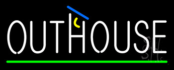 Outhouse Neon Sign
