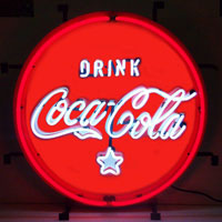 Coca-cola Red, White & Coke Neon Sign