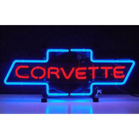 Corvette Bowtie Neon Sign