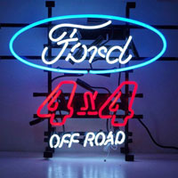 Ford 4 X 4 off Road Neon Sign