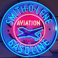 Smith-o-lene Gasoline Neon Sign