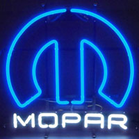 Mopar Omega Neon Sign