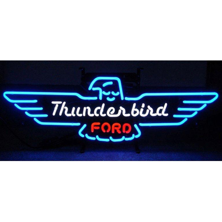 Ford Thunderbird Neon Sign
