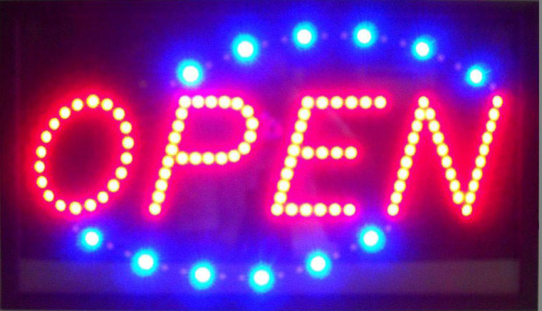 Open Horizontal Led Sign