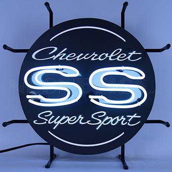 Chevrolet Ss Super Sport Junior Neon Sign