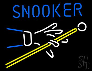 Snooker Neon Sign