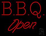 BBQ - Open Neon Sign