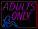 Custom Adults Only Neon Sign 2