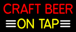 Custom Craft Beer On Tap Neon Sign 2