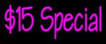 Custom 15 Special Neon Sign 1