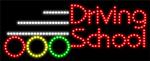Custom Driving School Led Sign 5