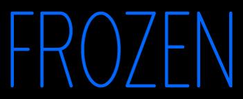 Custom Frozen Neon Sign 1