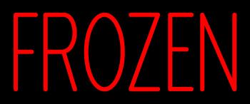Custom Frozen Neon Sign 2