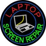 Custom Laptop Screen Repair Led Sign 1