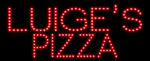 Custom Luiges Pizza Led Sign 4