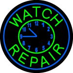 Custom Marasa Watch Repair Neon Sign 2