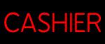 Custom Red Cashier Neon Sign 1