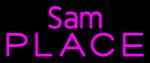 Custom Sam Place Neon Sign 1