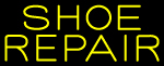 Custom Yellow Shoe Repair Neon Sign 1