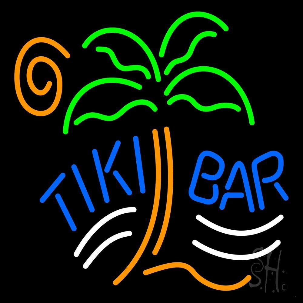Tiki Bar Palm Tree Neon Sign | Tiki Bar Neon Signs - Every